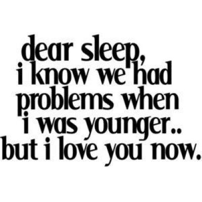 Famous Quotes about Can't Sleep