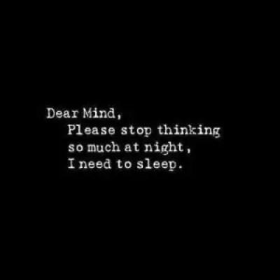 I need to sleep QUotes