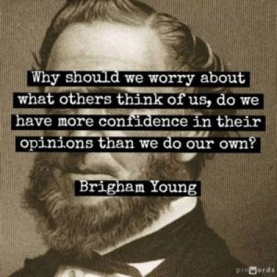 Quotes From Brigham Young