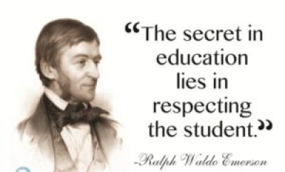 Ralph Waldo Emerson Education Quotes