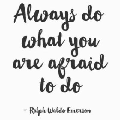 Ralph Waldo Emerson Quotes about Courage