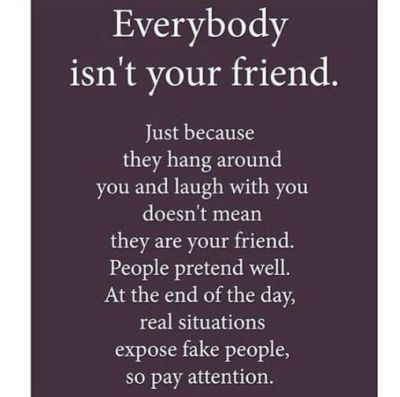 Fake Close Friends Quote