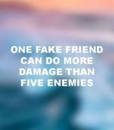 Fake Friends Quotes And Pictures
