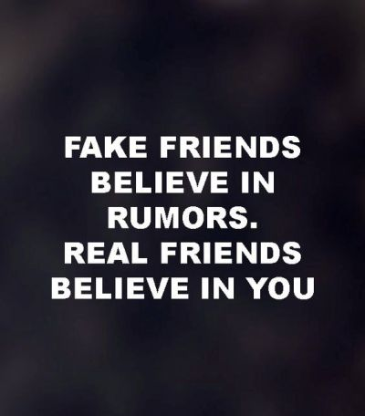 Fake People And Friends Quotes