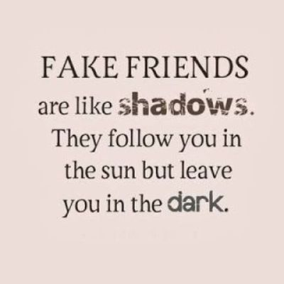 Famous Fake Friends Quotes