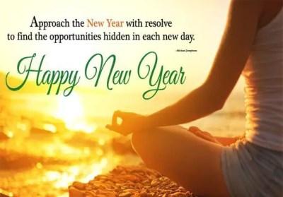 Inspirational Sayings On New Year