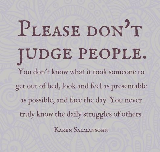 Judgemental People Sayings Quotes