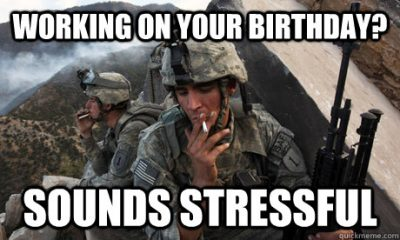 Working On Your Birthday Memes