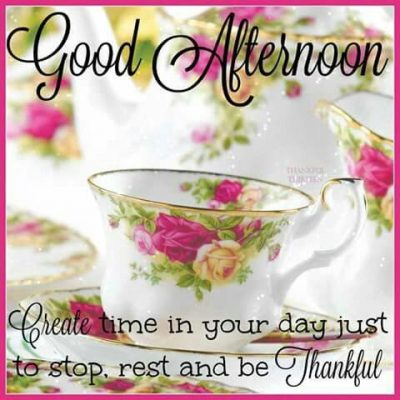 Good Afternoon Quotes In English
