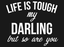 Being Tough Quote