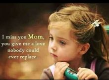 Touching Memorial Quotes For Mom