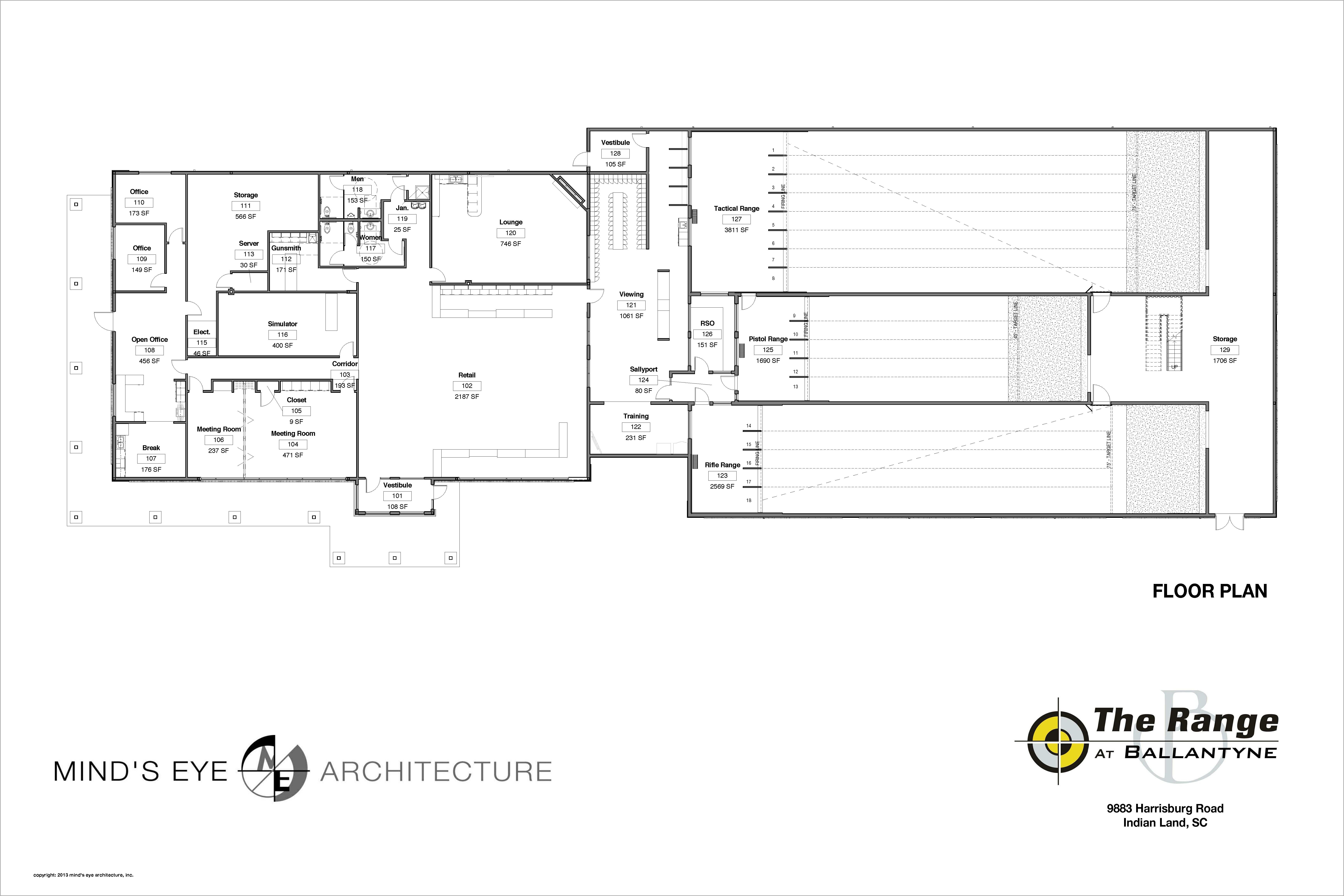 Trb Floor Plan