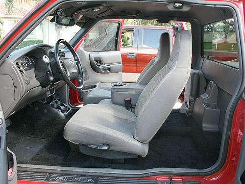 New Carpet Installation In A 2002 Ford Ranger