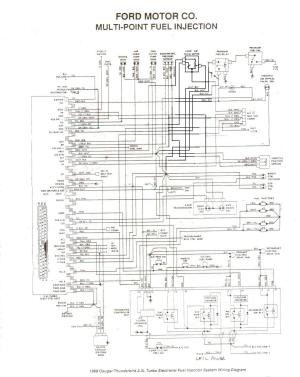 Fuse Diagram On A 86 Ford Ranger 2 9 Fuel Injected