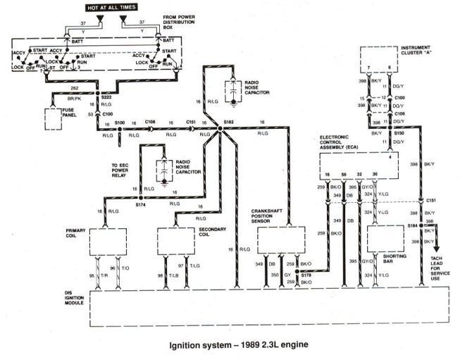 1988 ford bronco ii wiring diagram  schematic wiring