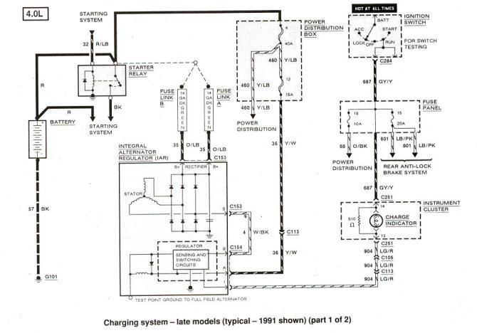 2000 ford explorer light wiring diagram additionally