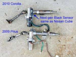 Toyota Electric Power Steering (EPS) Conversion : The