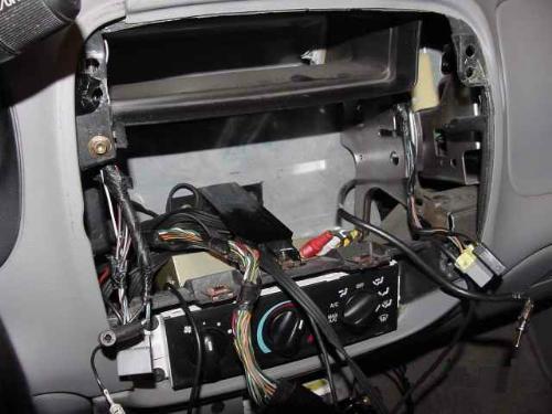 ford ranger radio wiring diagram