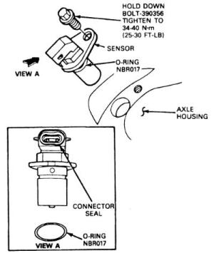 2004 ford explorer speedometer reading incorrectly
