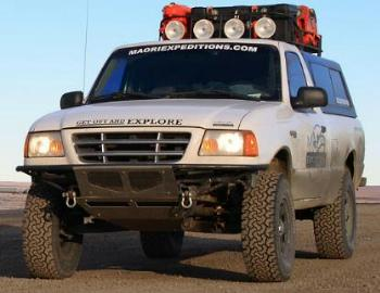 Safari Pacific Exploration Ford Ranger