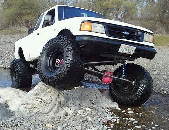 CrazyWhiteBoy 1997 Ford Ranger 4×4 SAS