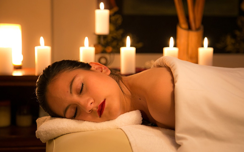 Massage huile relaxation