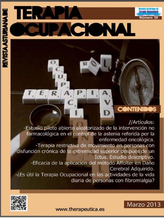 Revista Asturiana de Terapia Ocupacional Nº 10