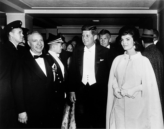Le couple John et Jackie Kennedy