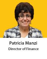 Meet Patricia Manzi, Director of Finance