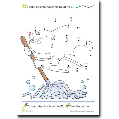 Dot To Dots Deluxe Edition Activity Zone Workbook Therapy In A Bin