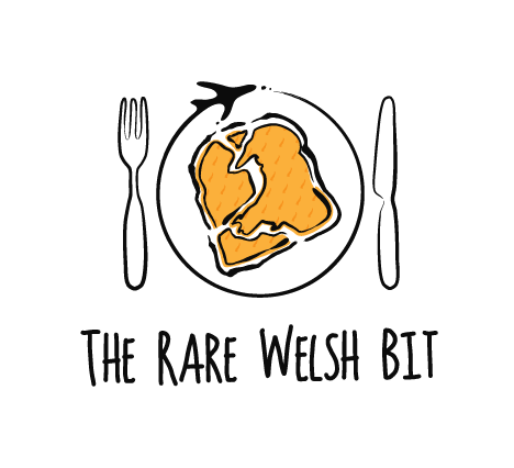 Logo for The Rare Welsh Bit food and travel blog