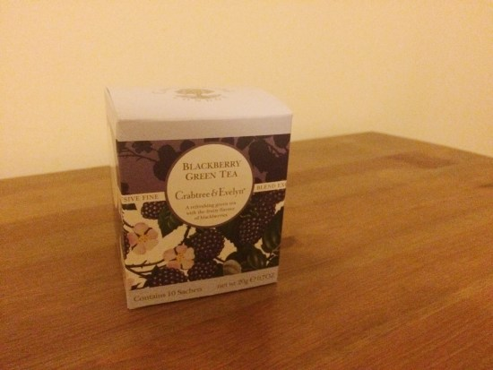 Crabtree and Evelyn Blackberry Green Tea