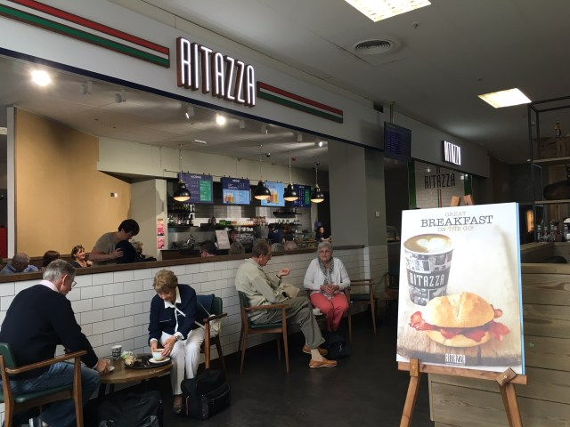 Cafe Ritazza, Cardiff Airport