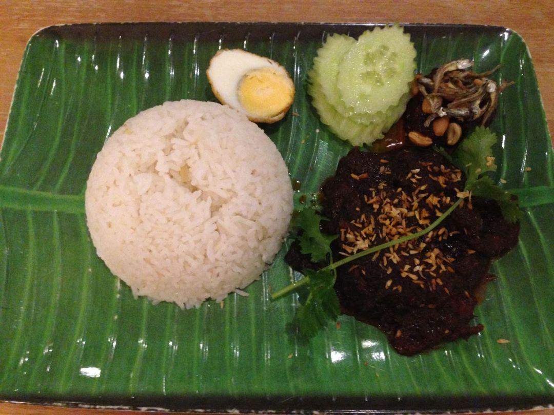 Beef Rendang at Jalan Malaysia, Cardiff