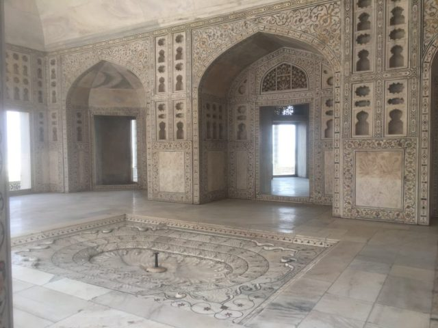 Khas Mahal - An immaculate white marble palace.