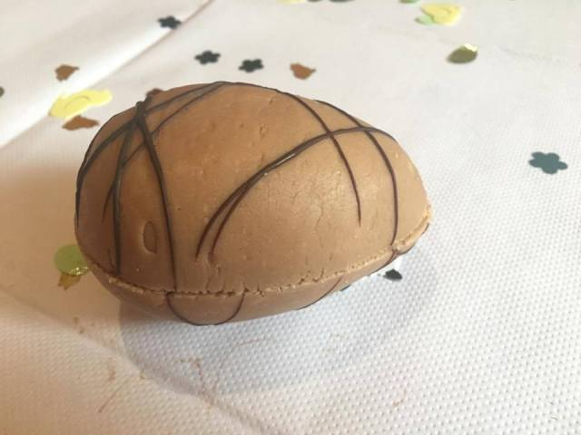 Fudge Easter egg