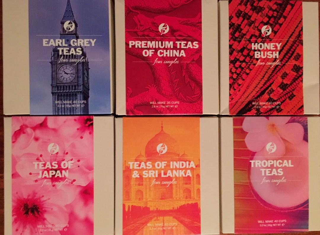 Adagio Teas' range of world loose leaf teas