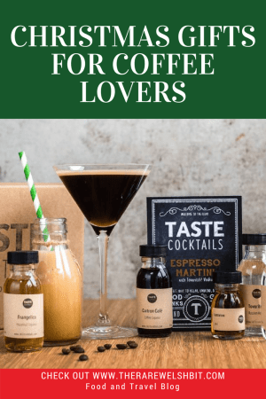 A selection of gifts for coffee lovers