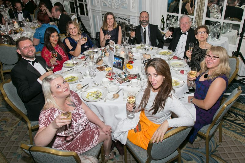 Pure Grenada group table photo at British Guild of Travel Writers Awards