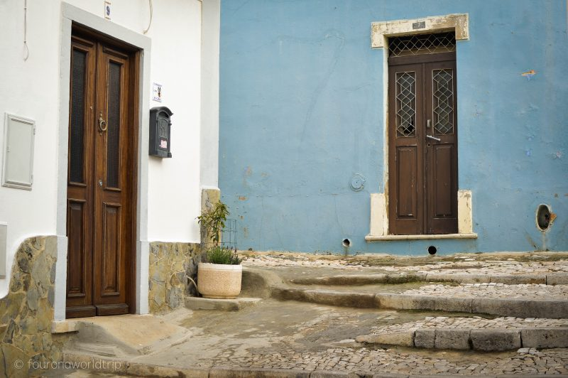 A quaint old house in Loule in the Algarve, Portugal - a lesser known destination for an Algarve holiday