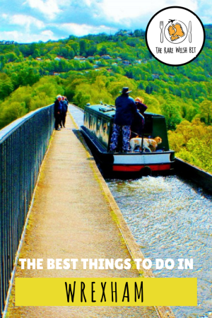The best things to do in Wrexham, north east Wales, from crossing the 39m-high Pontcysyllte Aqueduct, to visiting the oldest medieval church in Wales.