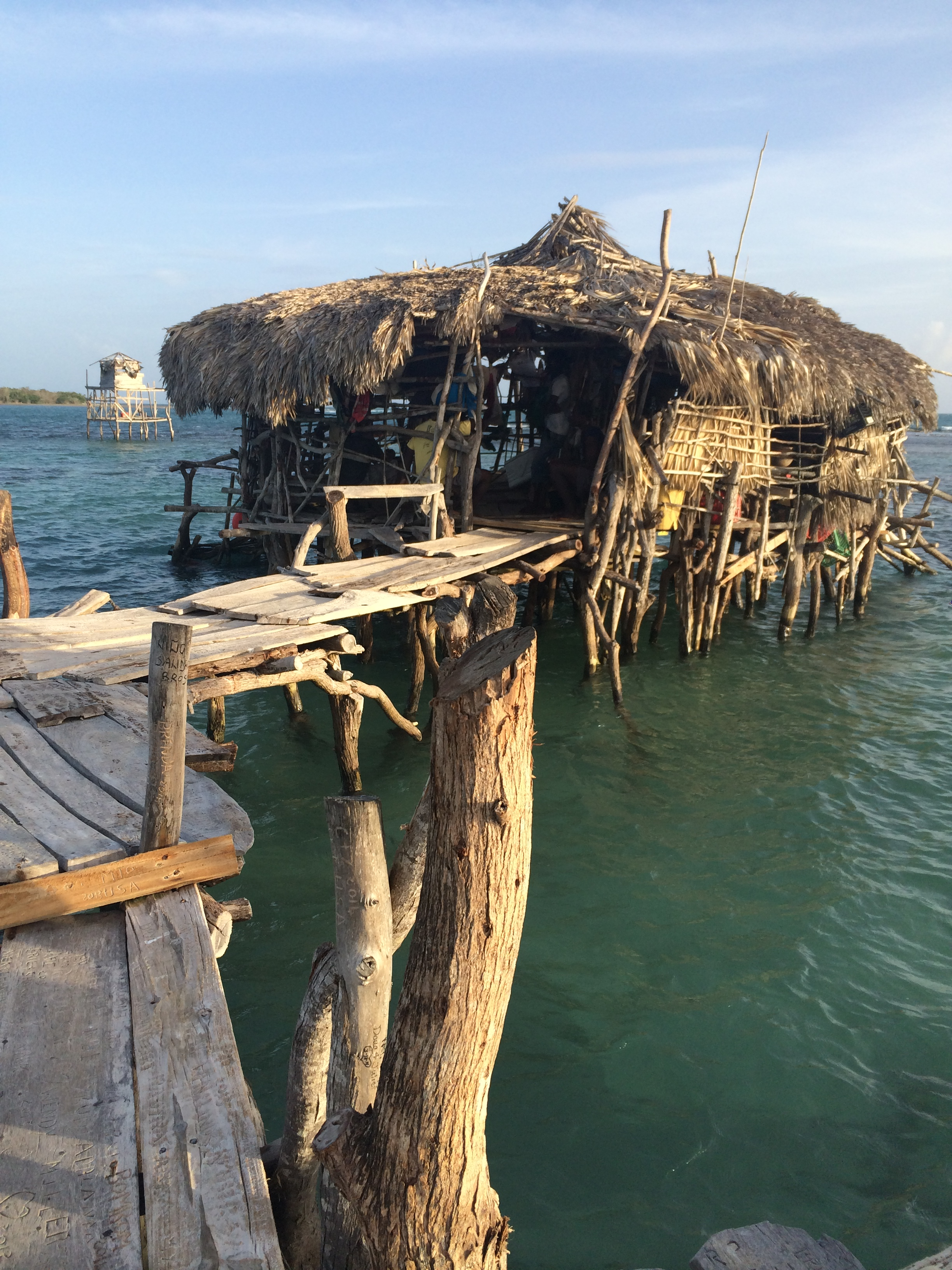 Floyds Pelican Bar - one of my favourite places to visit in Jamaica