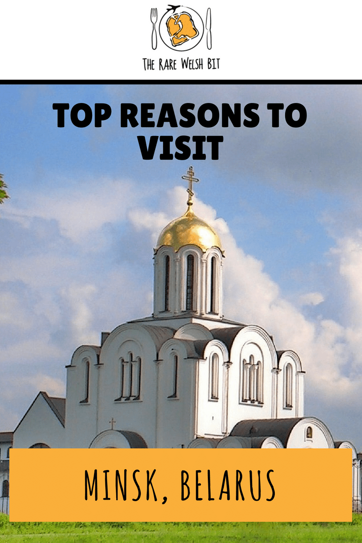 The top reasons to visit Minsk, Belarus, from the architecture and cafes, to the museums and galleries. #Minsk #Belarus #EasternEurope