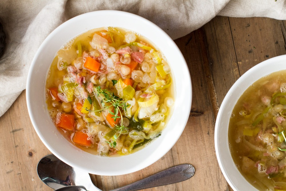 Norwegian Yellow Split Pea Soup Recip