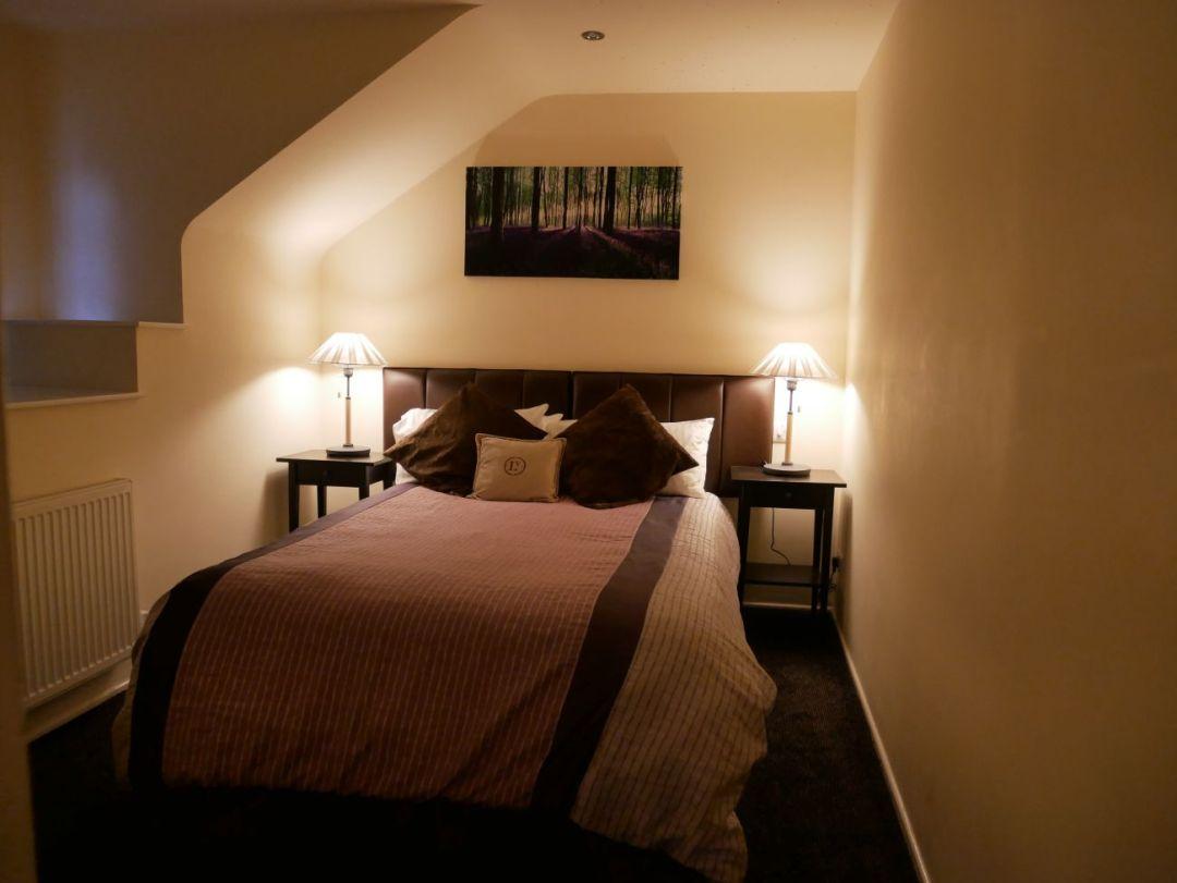 Bedroom at Llanerch Vineyard