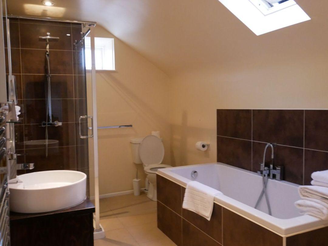 Bathroom at Llanerch Vineyard