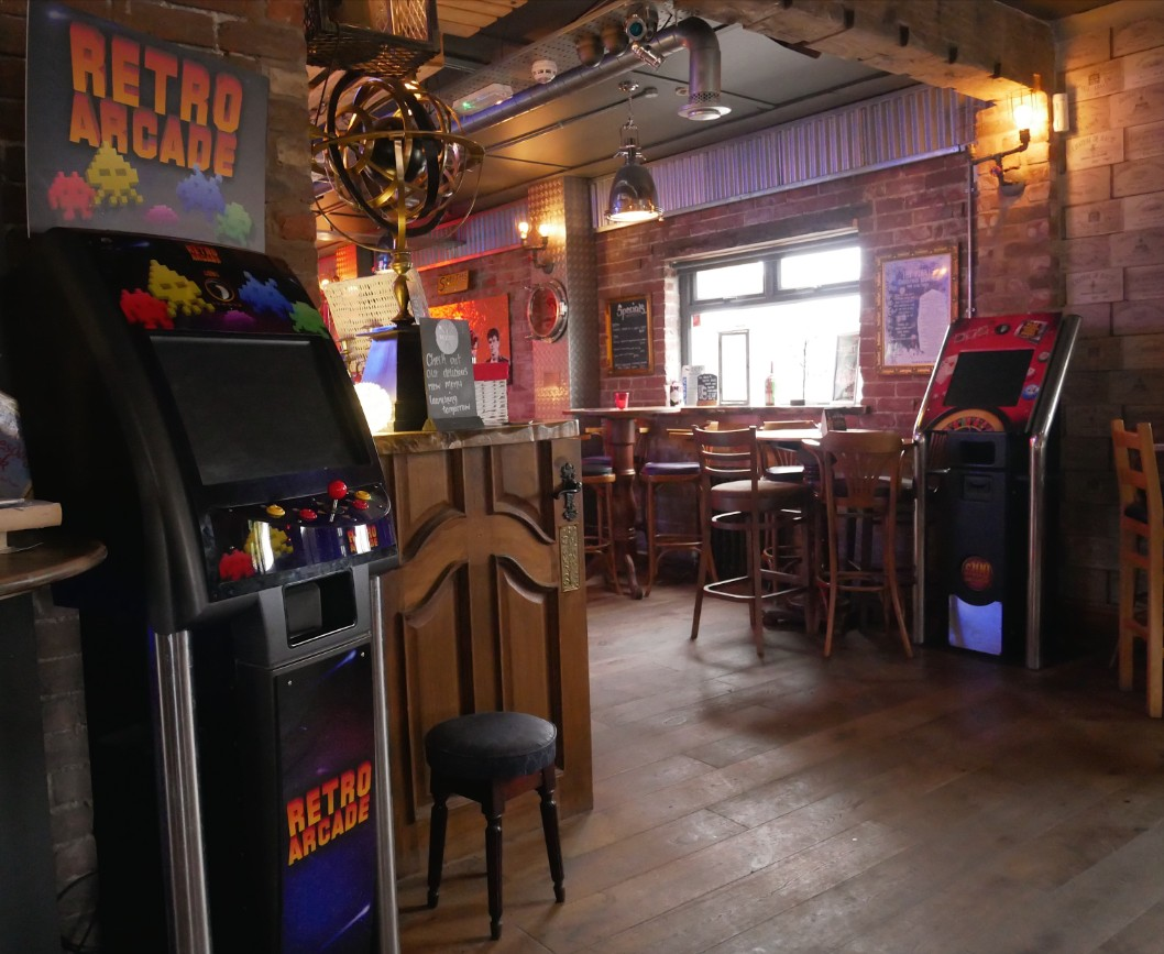 Arcade game at The Point, Talacre