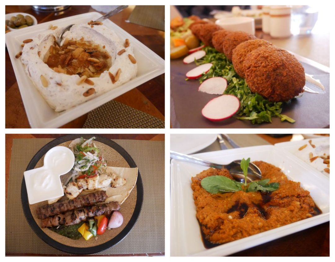 Meal at Al Mirqab in Souq Waqif, Doha