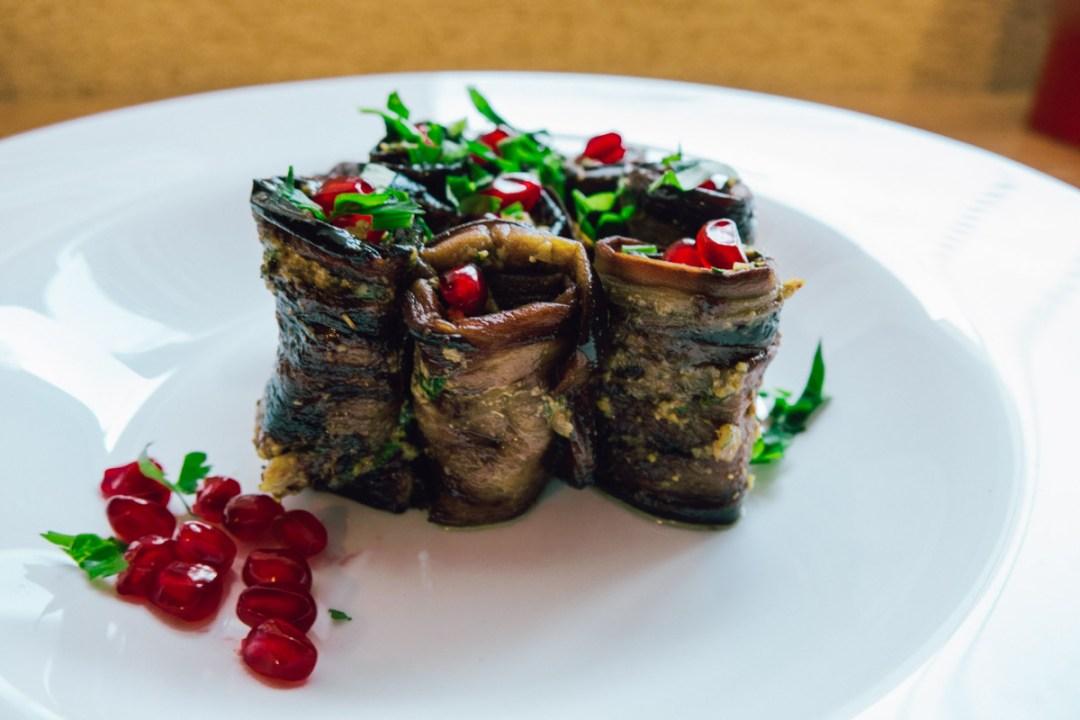 Eggplant Recipe – Walnut Wraps| Eat Like a Local | Georgia