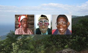 Malawi scene and eye patients